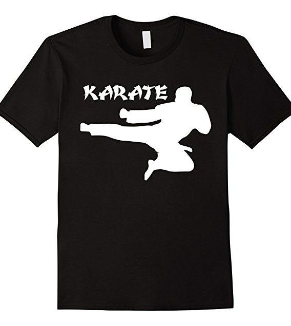 Premium Karate Training T-shirt, Karate Lovers Gift Tshirt