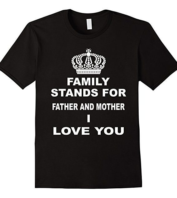 I Love My Family T-shirt | Family Day T shirt | Family Gifts