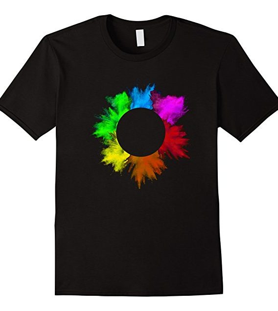 Total Solar Eclipse Summer August 21 2017 Colorful T Shirt