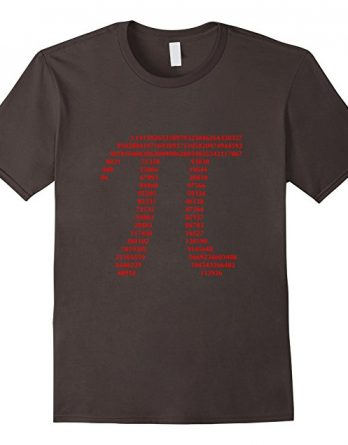 Pi Gift T-shirt for Math Geeks and Nerds,Pi Day Gift Shirt