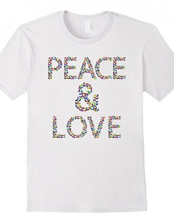 World Love Peace Gift Tshirt - Peace Is My Religion Shirt